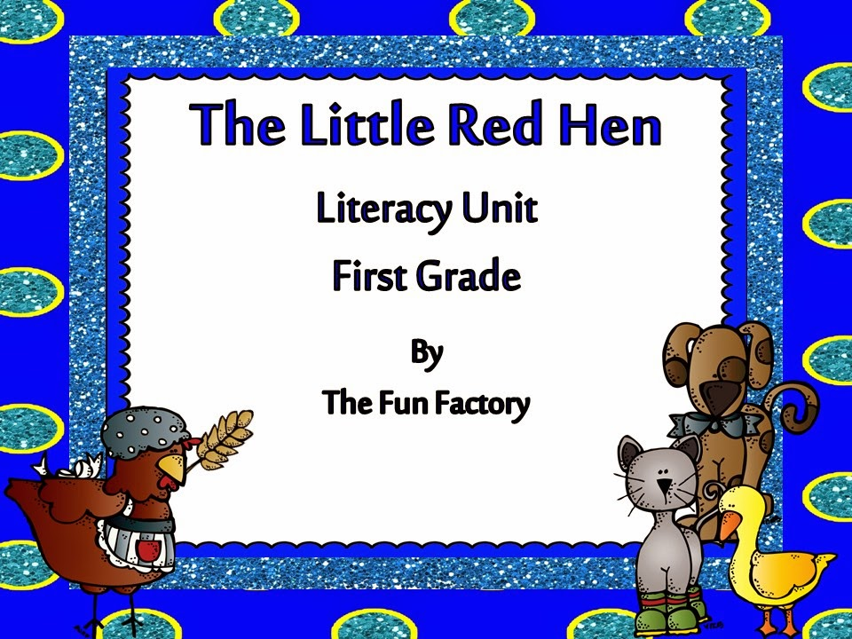 The Little Red Hen FREEBIE