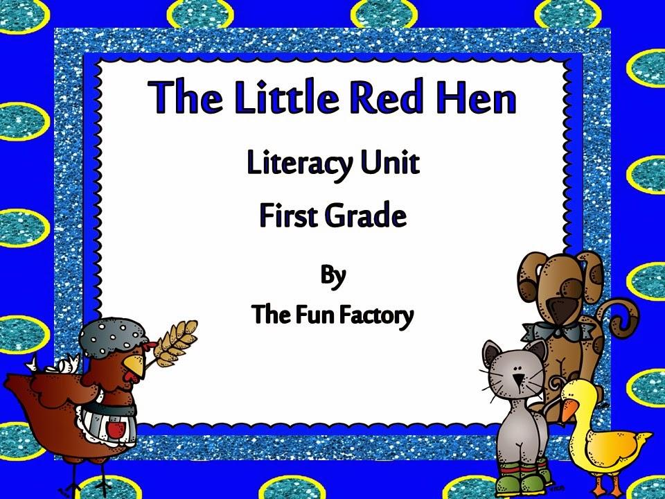 The Little Red Hen FREEBIE