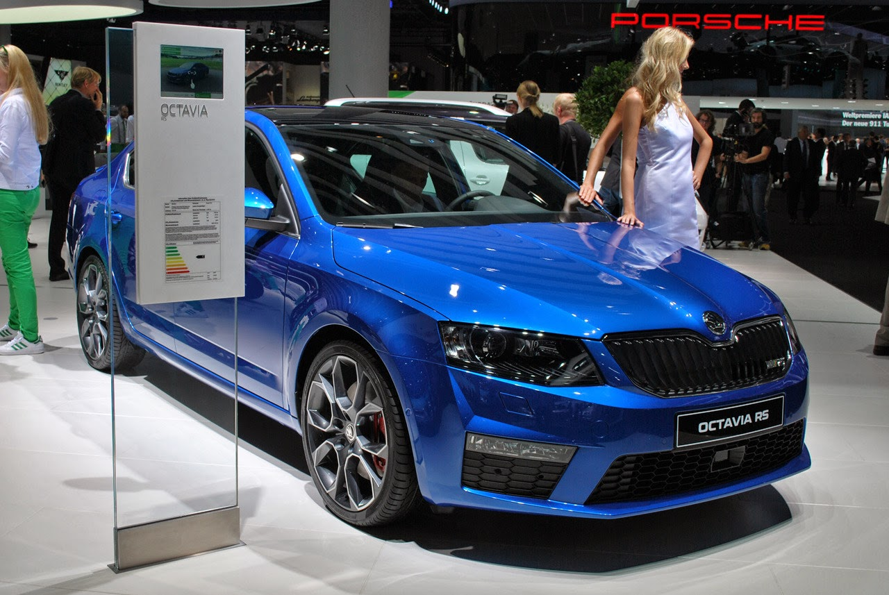 automotiveblogz 2014 skoda octavia rs frankfurt 2013 photos. Black Bedroom Furniture Sets. Home Design Ideas
