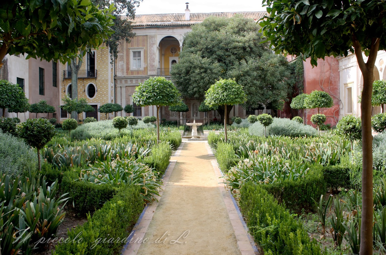 Il piccolo giardino di L.: Giardini storici andalusi (Seconda ...