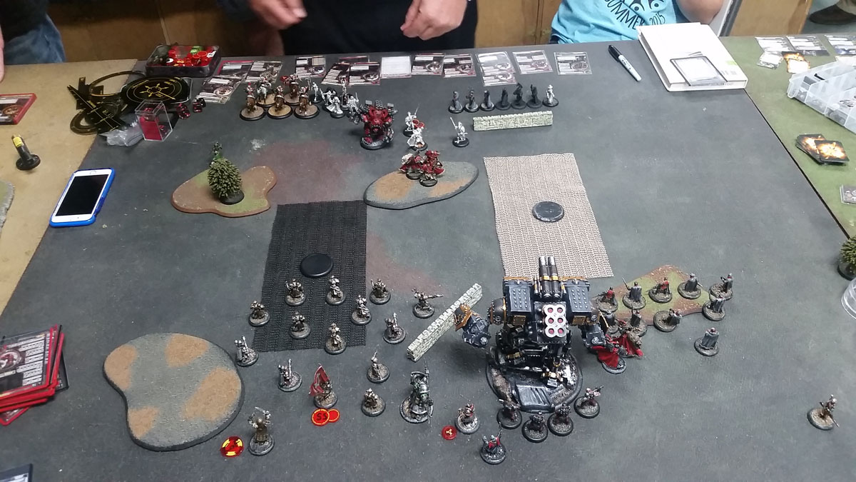 warmachine battle report khador
