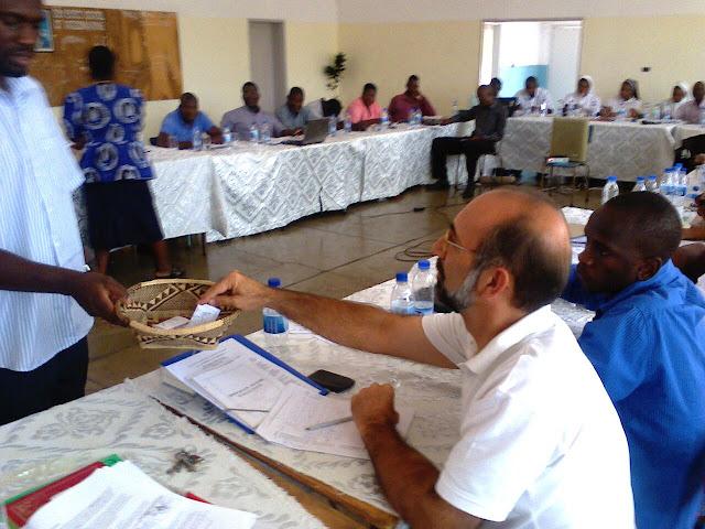 Misionero en Zimbabue