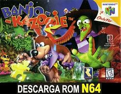 Banjo-Kazooie ROMs Nintendo64 Español