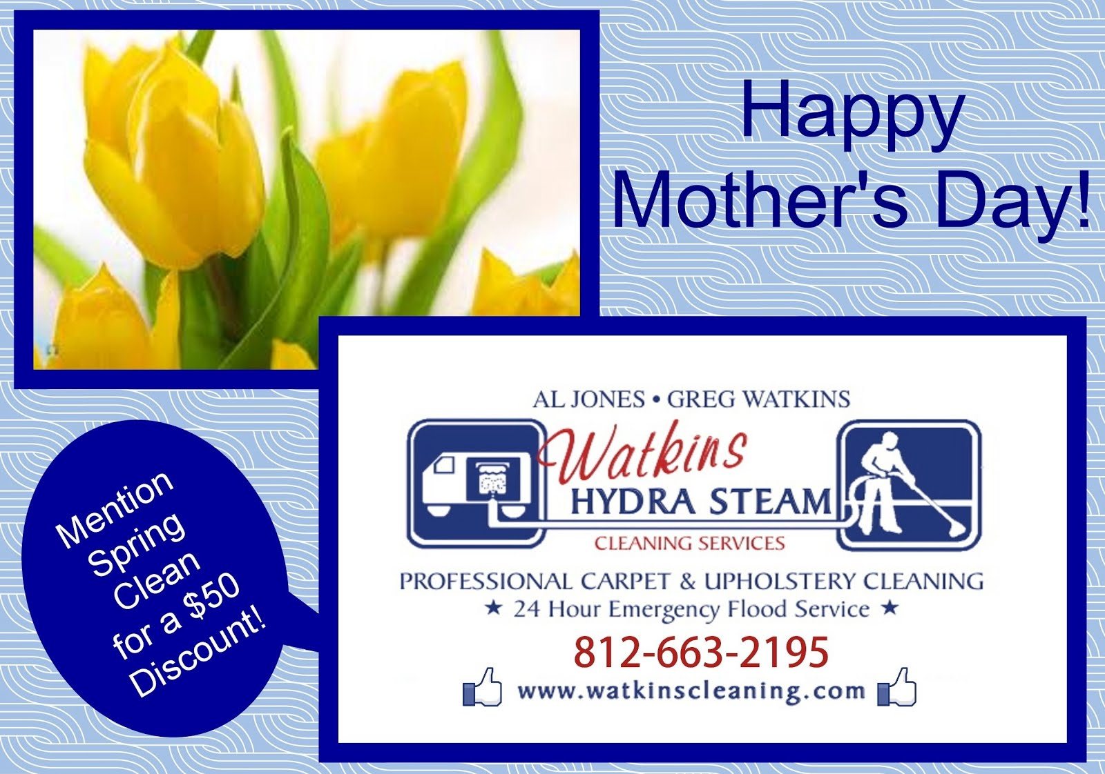 Watkins Carpet Cleaning Mother S Day