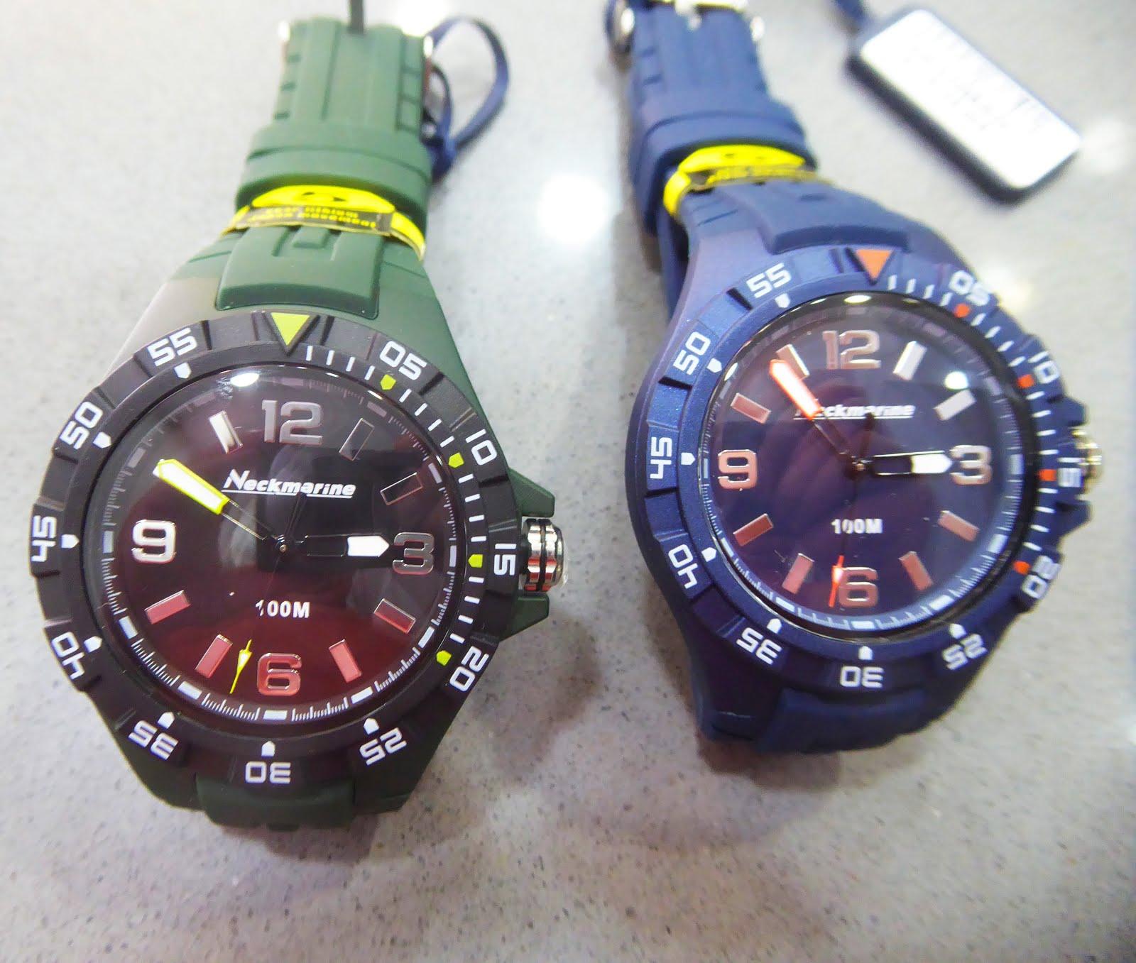 Nuevos relojes Neckmarine
