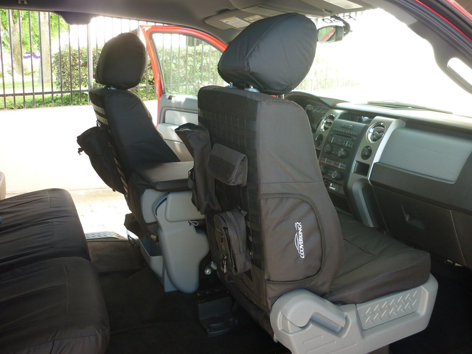 Coverking Blog Coverking Tactical Seat Covers On Truckin
