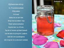 Opskrift på hybenrose-sirup