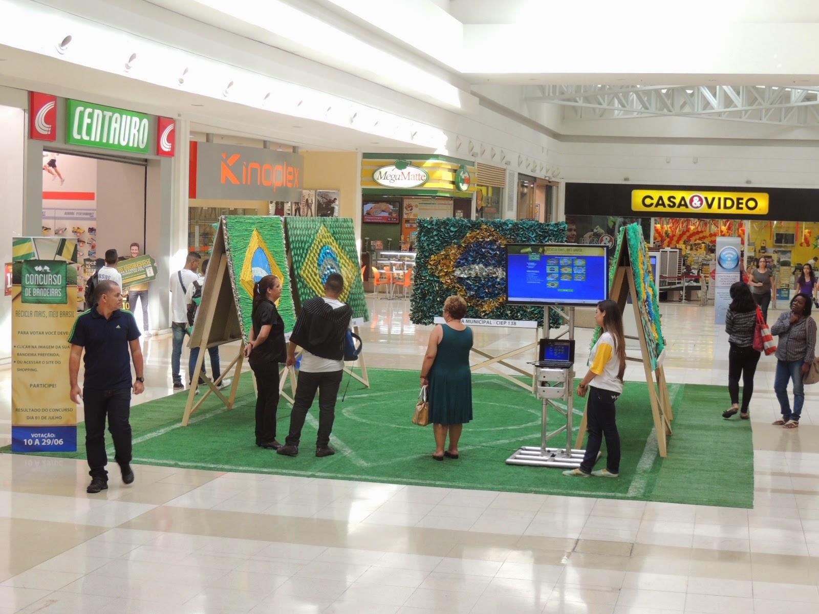 Shopping Grande Rio promove concurso de bandeiras