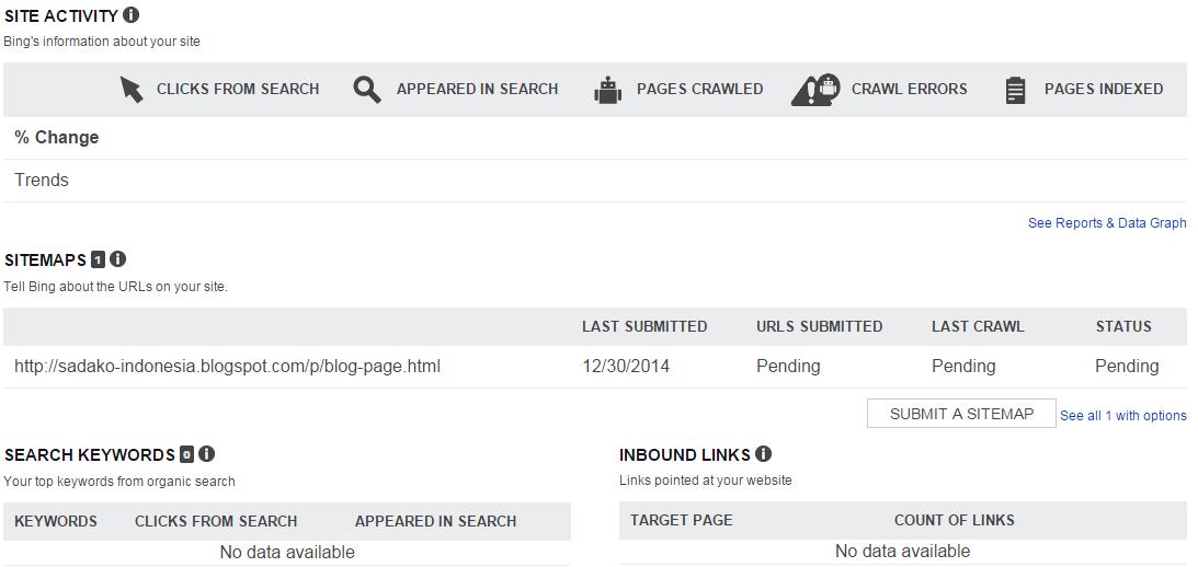 Langkah-langkah mendaftarkan situs di Bing Webmaster Tools 7