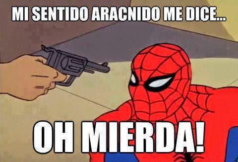 Spiderman - Mi sentido aracnido me dice.... oh mierda!