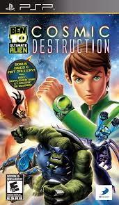 Ben 10 - Ultimate Alien - Cosmic Destruction - PSP - ISOs Download