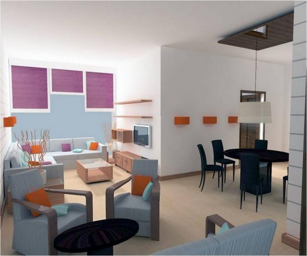 Interior Design Of An Apartment
