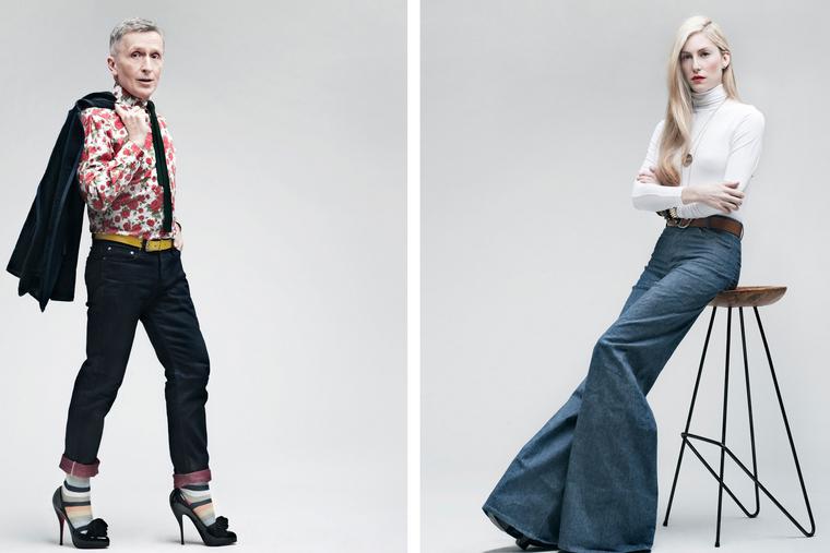 Joanna Hillman, fashion editor at Harper's Bazaar.