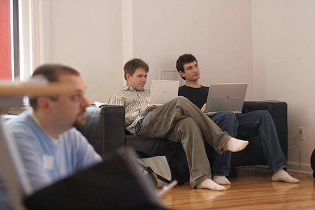 Shoeless Men Men In Socks August 30 2011