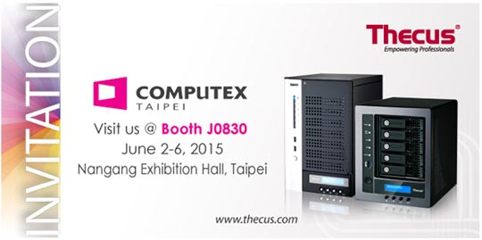 Thecus at Computex 2015
