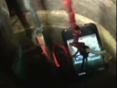 Penyelamatan Balita  Dari Lubang Sumur Dengan iPhone