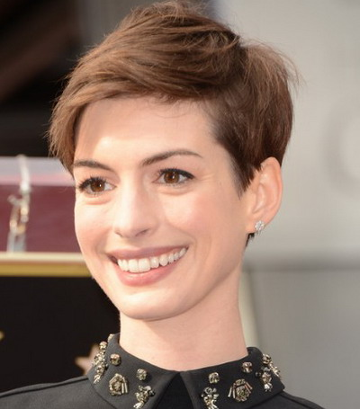 short celebrity hairstyles 2013