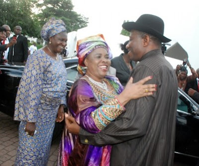 Patience and goodluck Jonathan image