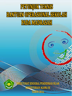 Juknis BOS Madrasah Tahun 2016