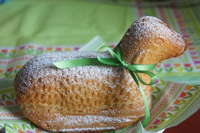 Rezept für glutenfreies Osterlamm