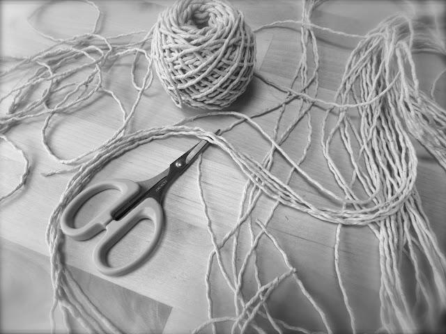 macrame string crafts