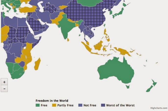 Freiheit in Südostasien