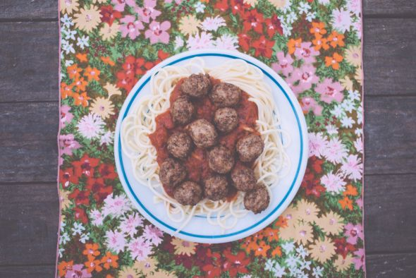 Emily Blincoe photography funny this and that ampersand Spaghetti and meatballs
