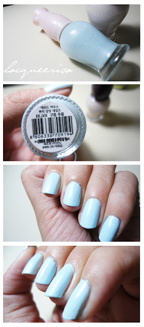 Etude House BL501 Nail Polish Review