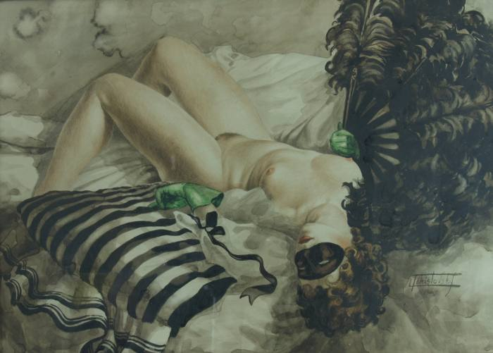 Lev Tchistovsky Лев Чистовский 1902-1969 | Russian Classical painter