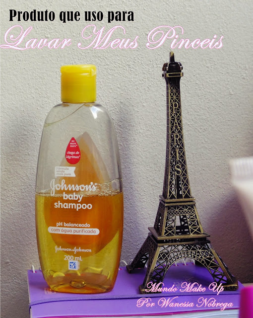 Shampoo que uso para lavar meus Pinceis Por Wanessa Nóbrega Mundo Make Up