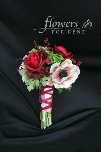 Flowers for rent bridal bouquets or sale