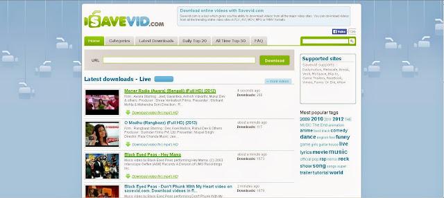 Situs Untuk Download Video Dari Youtube - savevid