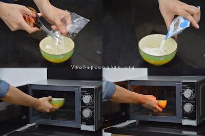 Cách làm kem trà xanh đậu đỏ