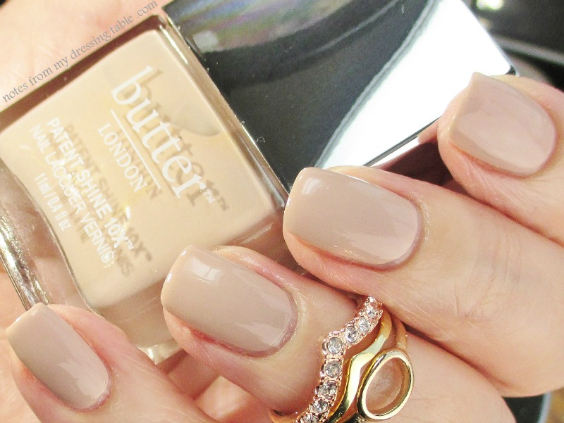 My Perfect Nude Polish? - Butter London Patent Shine 10 X Nail Lacquer - Shop Girl notesfrommydressingtable.com