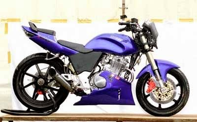 Foto Modifikasi Motor Thunder Sporty New Suzuki