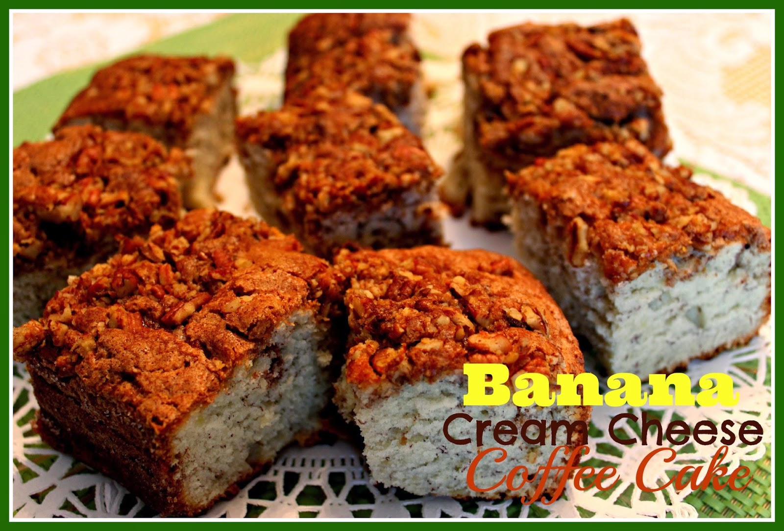 Sweet Tea and Cornbread: Banana Cream Cheese Coffee Cake!