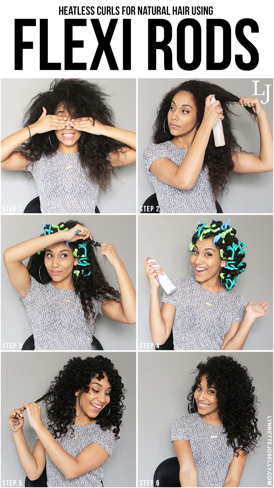 Lynnette Joselly Heatless Curls For Natural Hair Using