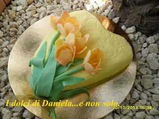 tutorial tulipani in pasta di zucchero.