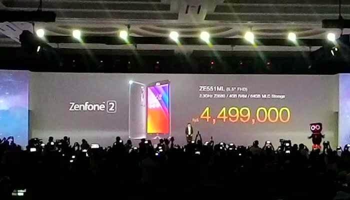 Asus ZenFone 2 Rilis Indonesia