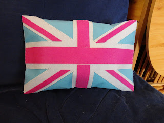 myStyle Union Jack Large Cushion Front