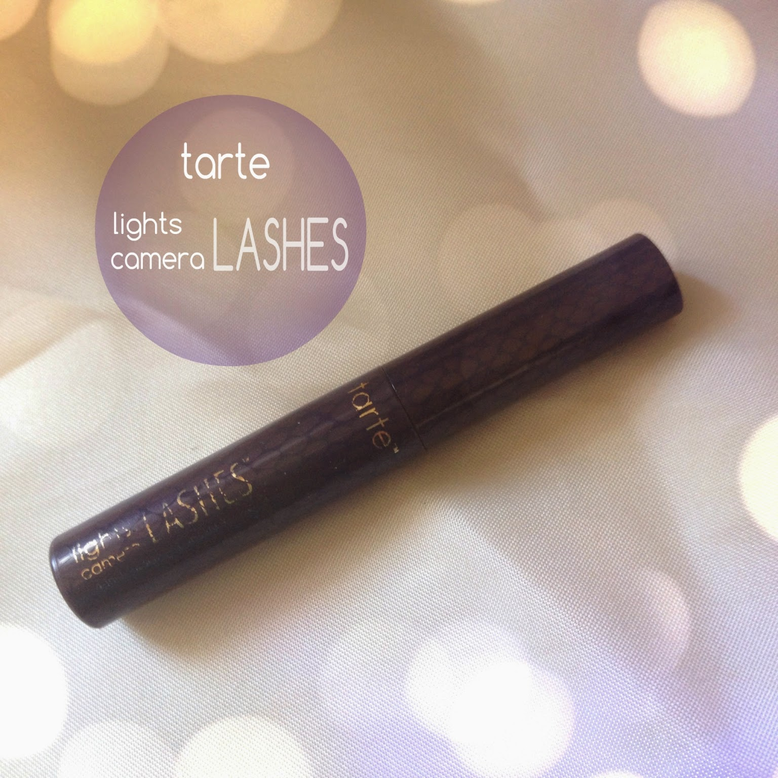 tarte lights camera lashes 4-in-1 mascara