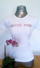 Detroit Snob Pink Gurl Tee