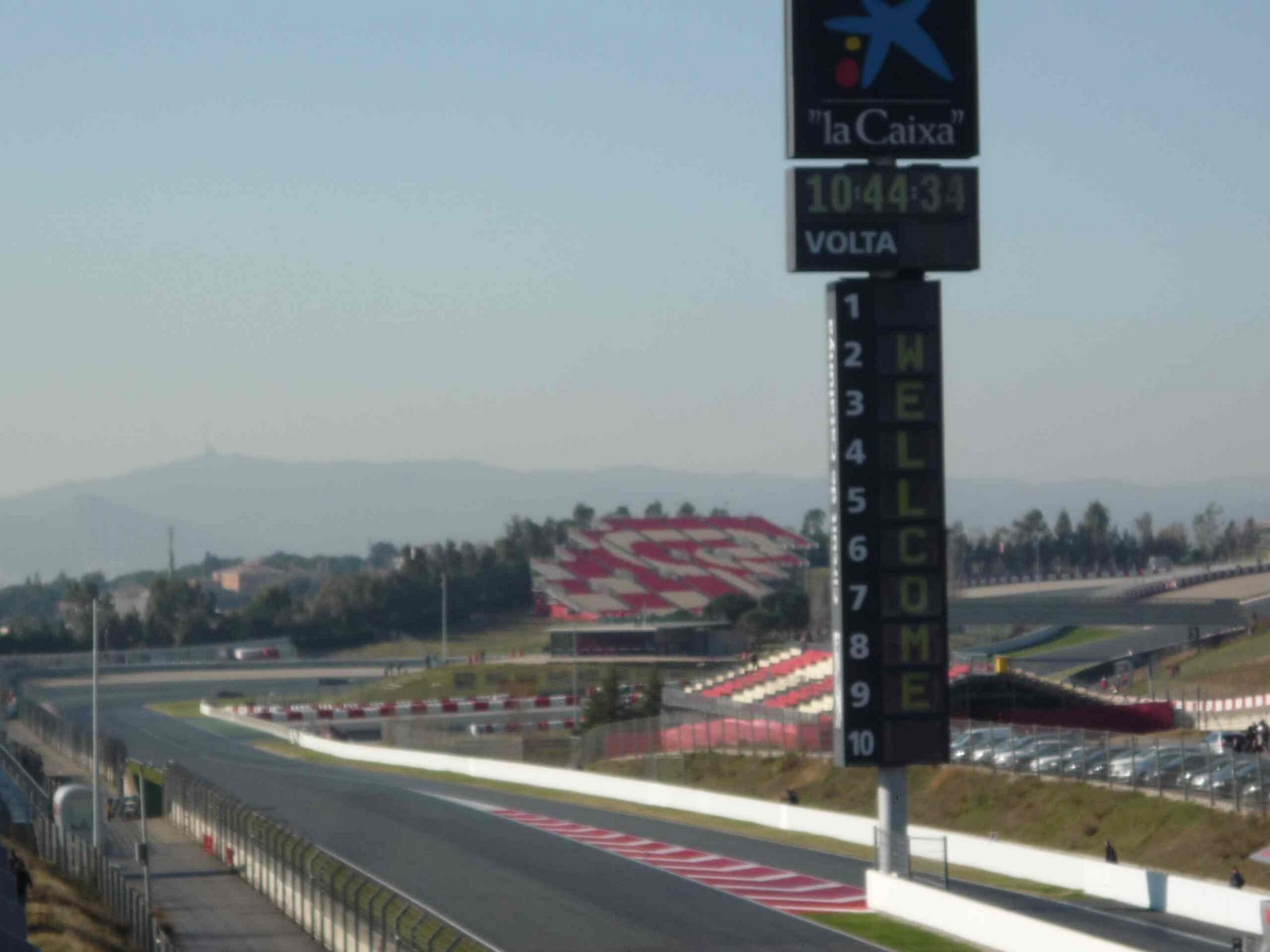 Circuito Montmelo : Parrilla de salida fórmula test f circuito montmelo