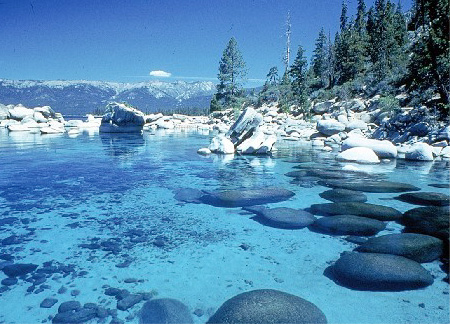 Beautiful places in all the world usa parks for Lake tahoe winter cabin