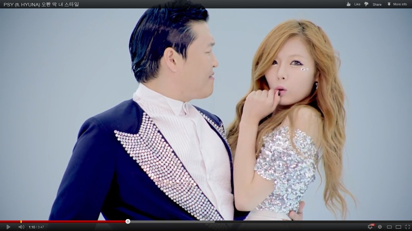 Are Hyuna and PSY dating?