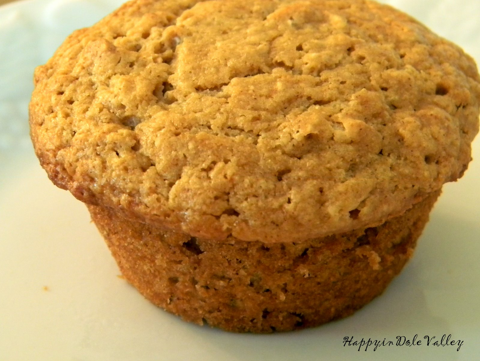 Happy in Dole Valley: Muffin Monday - Maple Oatmeal Muffins