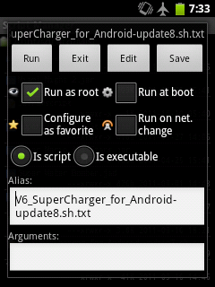 loading V6 Super Charger with Script Manager