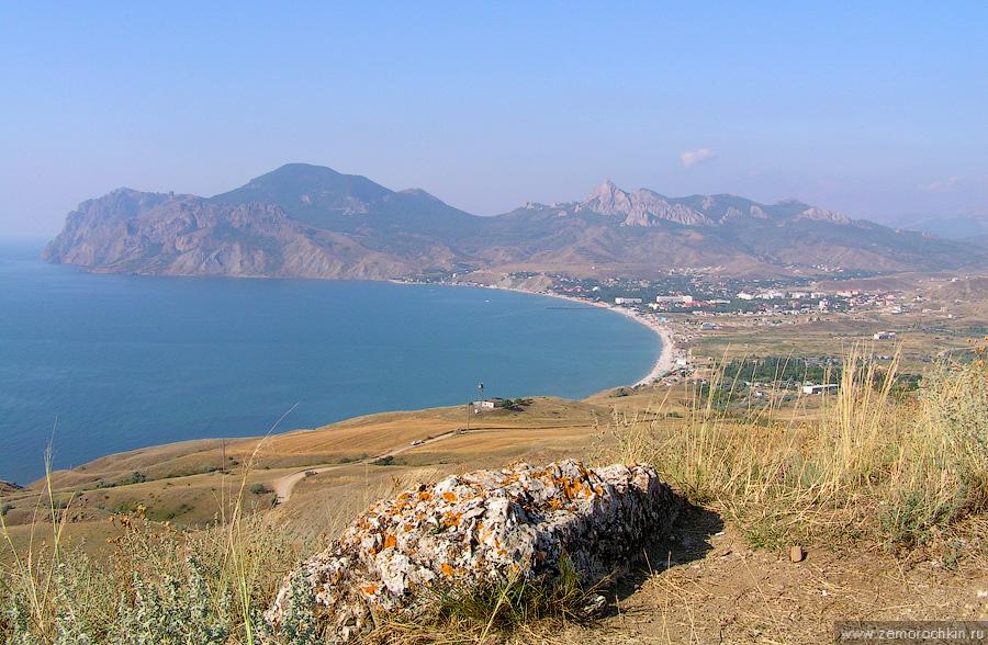 Вид на Кара-Даг с горы Кучук-Енишар | View of Kara-Dag from Kuchuk-Enishar mountain