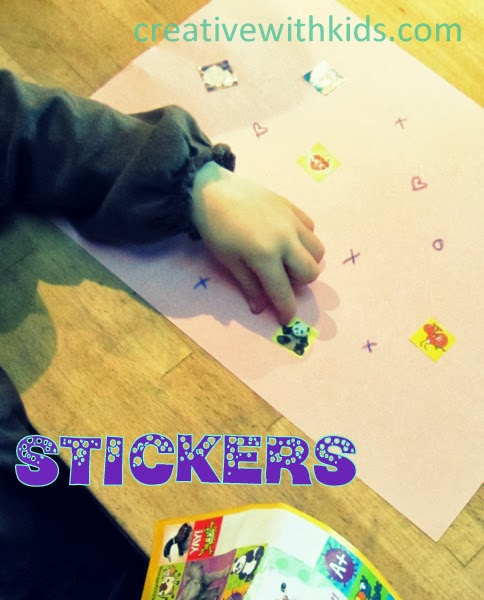 Sticker activities, and 21 other ways to keep Toddlers busy when you're Preggo! #free #99cent #clevernest #maternity #roundup #bedrest #sickday #preschool #artforpreschool