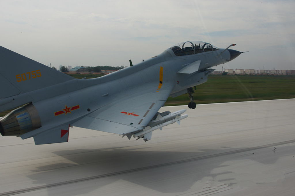 J-10S Vigorous Dragon Fighter Jet on Armed Patrol ...